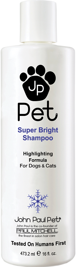 John Paul Pet Super Bright Dog Moisturizing Shampoo