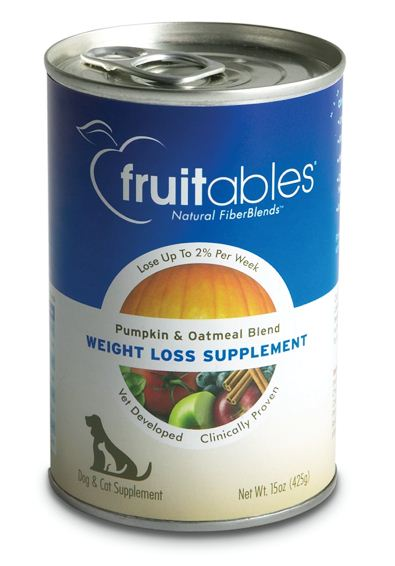 Fruitables Pumpkin Weight Loss Canned Supplement for Dogs and Cats
