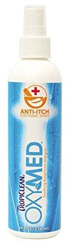 Tropiclean Oxy-Med Itch Spray for Dogs