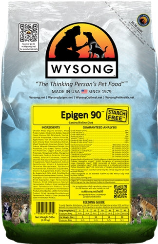Wysong Epigen 90 Canine and Feline Diet Dry Food