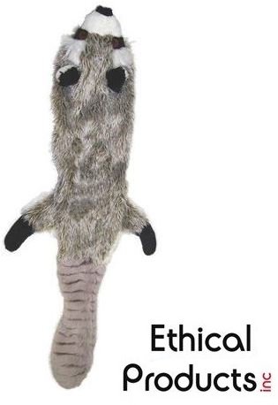 Ethical Pet Skinneeez Racoon Dog Toy