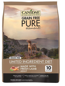 Canidae Grain Free PURE Elements with Fresh Lamb Dry Dog Food