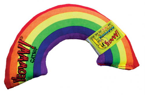 Yeoww! Rainbow Catnip Cat Toy