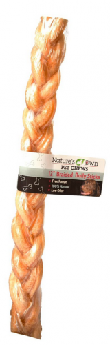 Nature's Own USA Low Odor Braided Bully Sticks