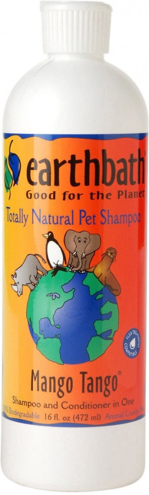 Earthbath Mango Tango Shampoo for Dogs and Cats
