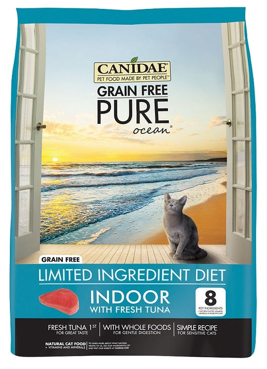 Canidae Grain Free PURE Ocean Indoor with Fresh Tuna Dry Cat Food