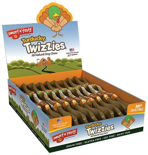 Smart n Tasty Turducky Twizzies Natural Dog Chew