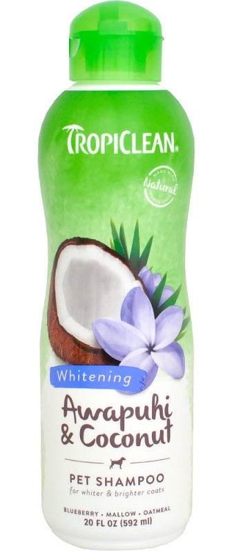 Tropiclean Awapuhi and Coconut White Coat Pet Shampoo