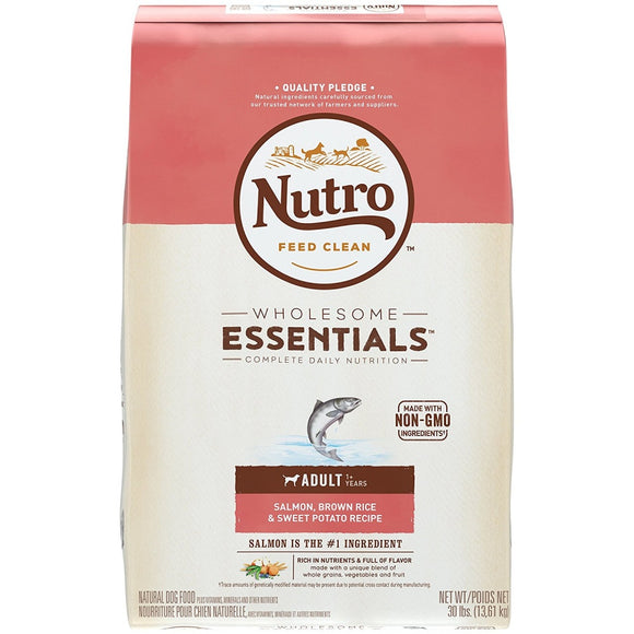 Nutro Wholesome Essentials Adult Salmon, Brown Rice & Sweet Potato Dry Dog Food