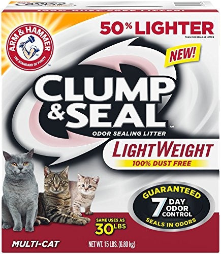 Arm & Hammer Multi-Cat Clump and Seal Lightweight Cat Litter