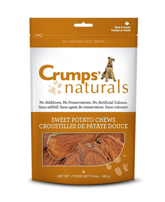 Crumps Naturals Sweet Potato Chews Dog Treats