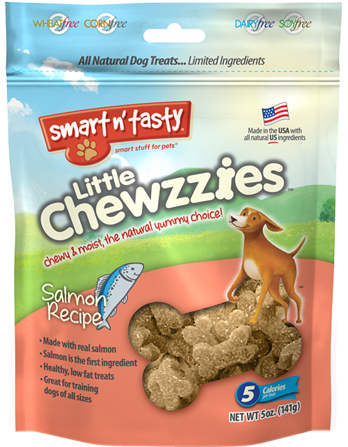 Smart n' Tasty Little Chewzzies Salmon Recipe Dog Treats