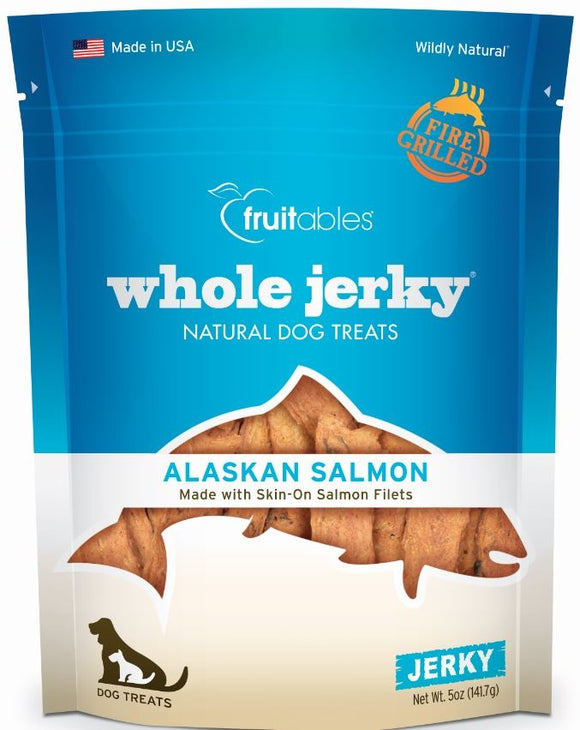 Fruitables Whole Jerky Alaskan Salmon Dog Treats