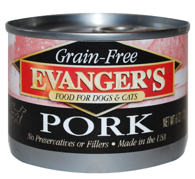 Evanger's Grain Free Pork Canned Dog & Cat Food
