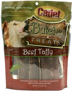 Cadet Butcher Treats Beef Taffy Dog Treats