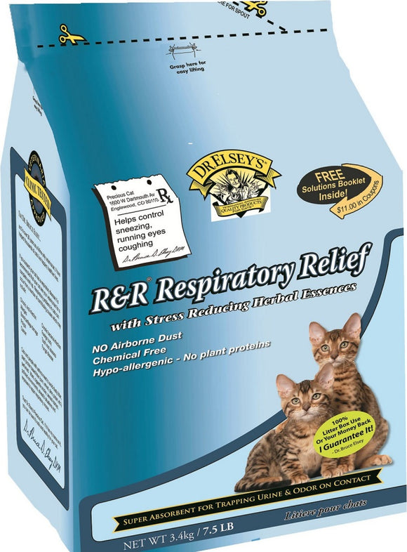 Dr. Elsey's Precious Cat Respiratory Relief Silica Gel Cat Litter