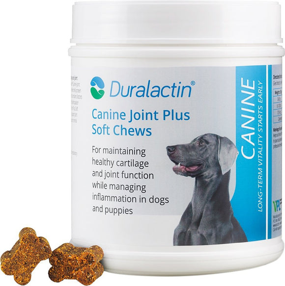 Duralactin Canine Joint Plus Soft Chew Dog Supplement