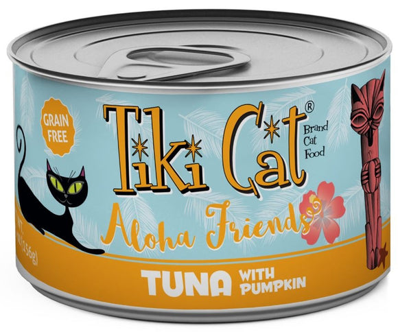 Tiki Cat Aloha Friends Grain Free Tuna with Pumpkin Canned Cat Food