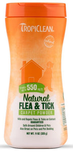 Tropiclean Flea and Tick Carpet and Pet Powder