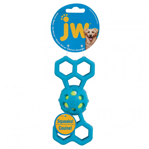 JW Pet Hol-ee Bone with Squeaker Dog Toy