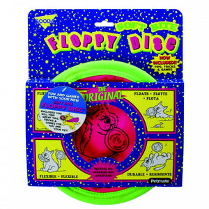 Booda Soft Bite Floppy Disk Dog Toy
