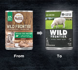 Wild Frontier Vital Prey Grain Free Lamb and Liver Stew Canned Dog Food