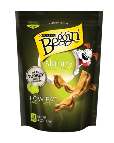 Beggin Strips Skinny Turkey Recipe Dog Treats