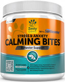 Zesty Paws Calming Anti Stress & Anxiety Bites Turkey Soft Chews For Dogs