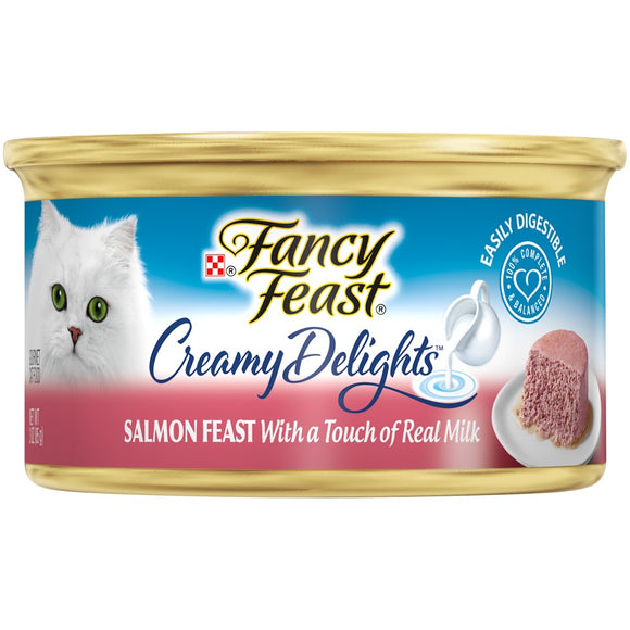 Fancy Feast Creamy Delights Salmon Feast Canned Cat Food