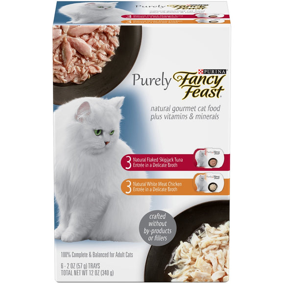 Fancy Feast Purely Natural Collection Variety Pack Canned Cat Food