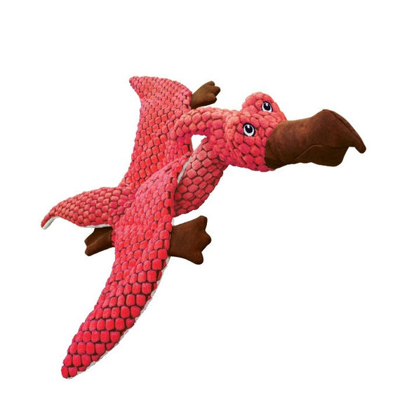 KONG Dynos Pterodactyl Plush Dog Toy