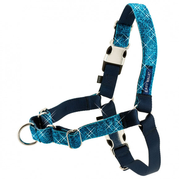 PetSafe Easy Walk Blue Bling Dog Harness