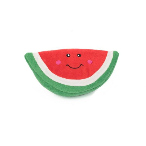 ZippyPaws NomNomz Plush Watermelon Dog Toy