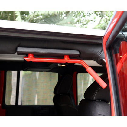 Rear Red Grab Handles for Jeep Wrangler JK 07-17