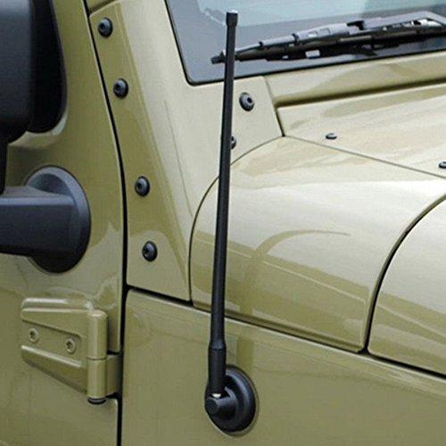 14 Inch Rubber Antenna for Jeep Wrangler JK 07-16