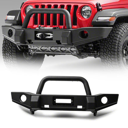 wildrock4x4 Bumpers 18-19 Jeep Wrangler JL Classic Deluxe Front Bumper