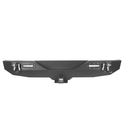 18-19 Jeep Wrangler JL Rear Bumper w/ LED Floodlights