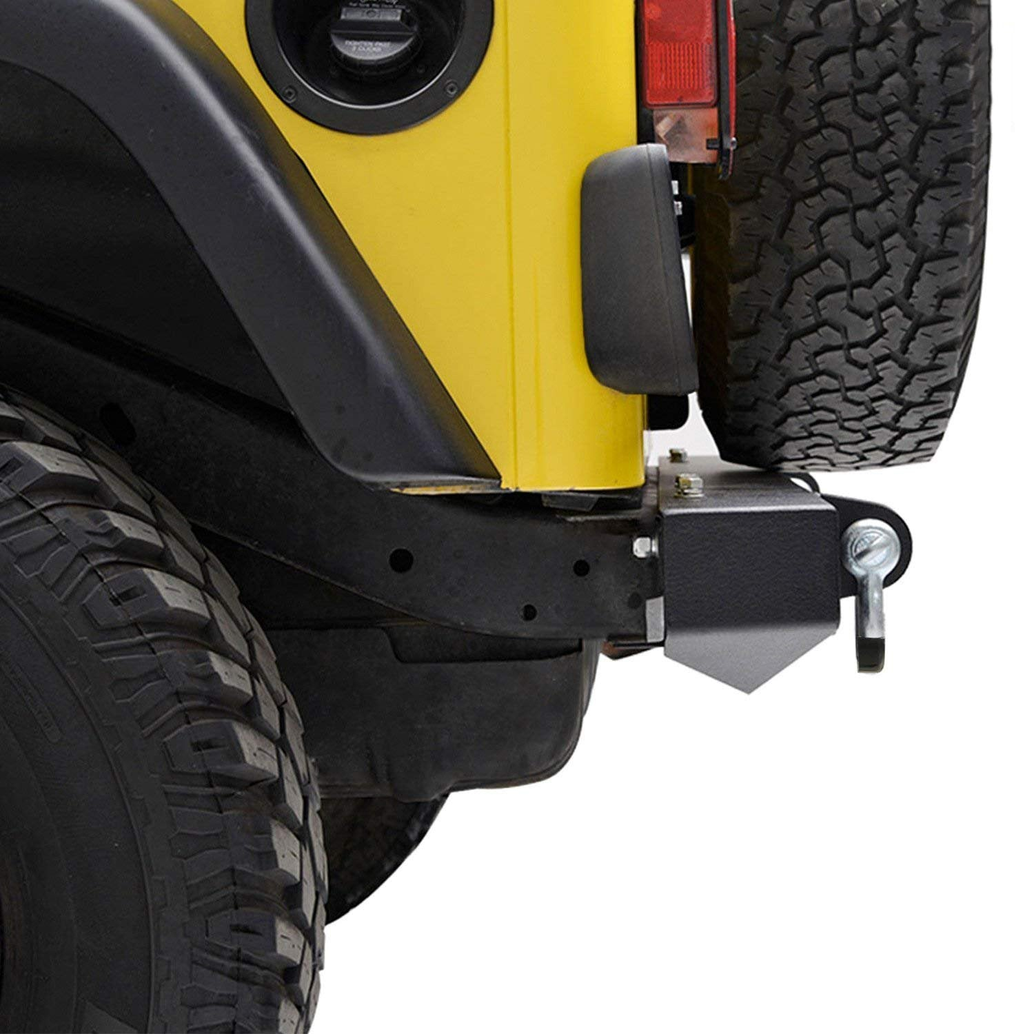 87-06 Jeep Wrangler TJ YJ Bumper & Hitch Receiver D-Ring