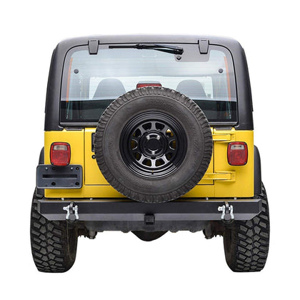 wildrock4x4 Bumpers 87-06 Jeep Wrangler TJ YJ Bumper & Hitch Receiver D-Ring