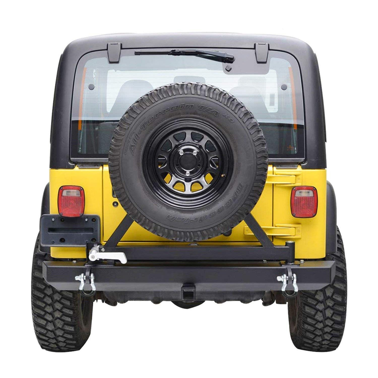 87-06 Jeep Wrangler TJ YJ Bumper & Tire Carrier