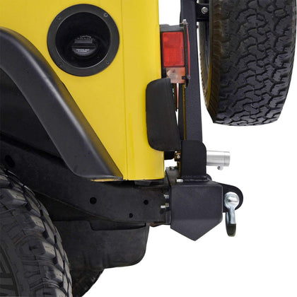 wildrock4x4 Bumpers 87-06 Jeep Wrangler TJ YJ Bumper & Tire Carrier
