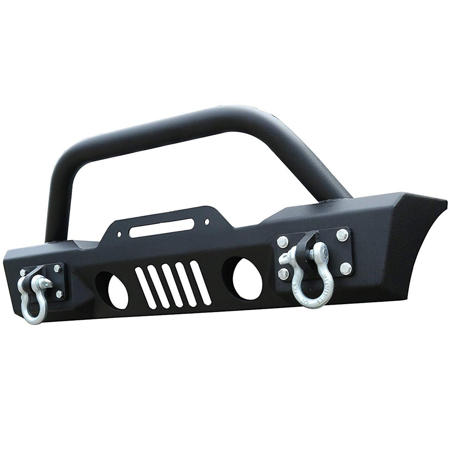 Front Bumper & Fog Light holes for 07-17 Jeep Wrangler JK