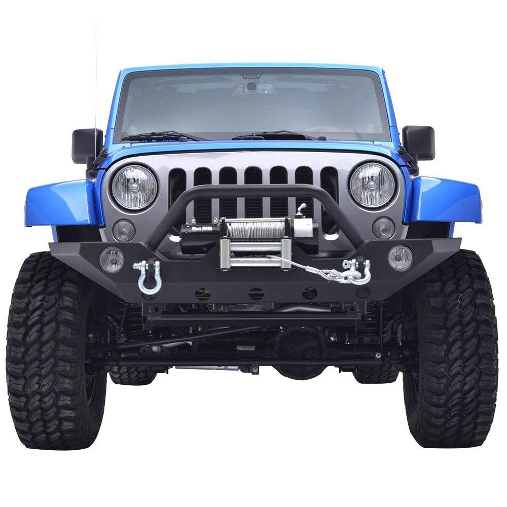 Front Bumper Kit for Jeep Wrangler JK 07-17