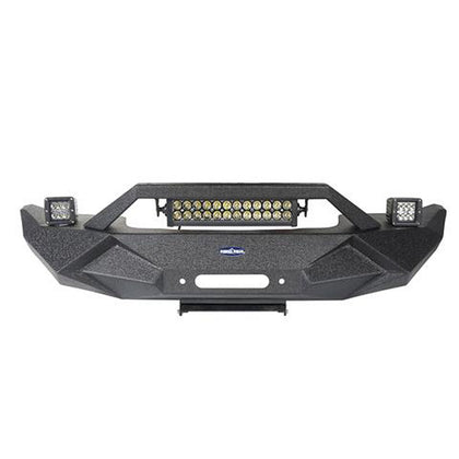 Front Bumper w/Light Bar for 18-19 Jeep Wrangler JL