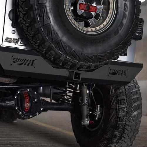 Iguana Series Rear Bumper for 07-17 Jeep Wrangler