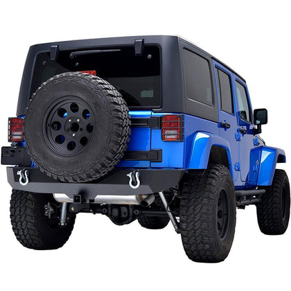 Rear Bumper Kit for Jeep Wrangler JK 07-17