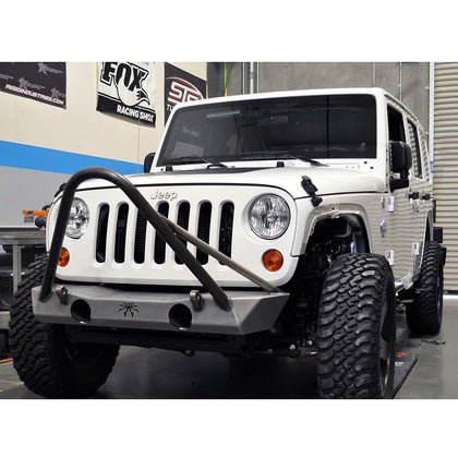 wildrock4x4 Bumpers Steel Powder-Coated Front Bumper for Jeep JK 07-17