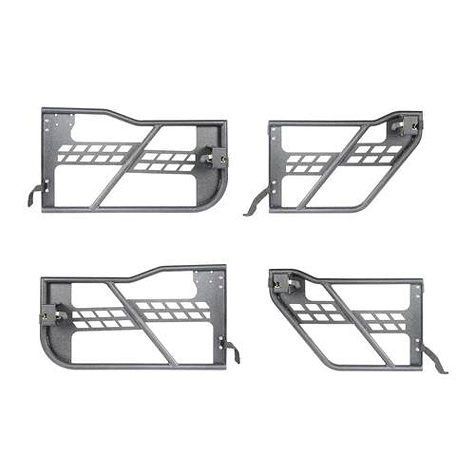 18-19 Jeep Wrangler JL  4 Doors Rock Crawler Tubular Doors