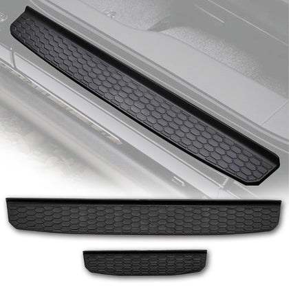 wildrock4x4 Door Parts Black Door Sill Guards for 2018 Jeep Wrangler JL 4 Door
