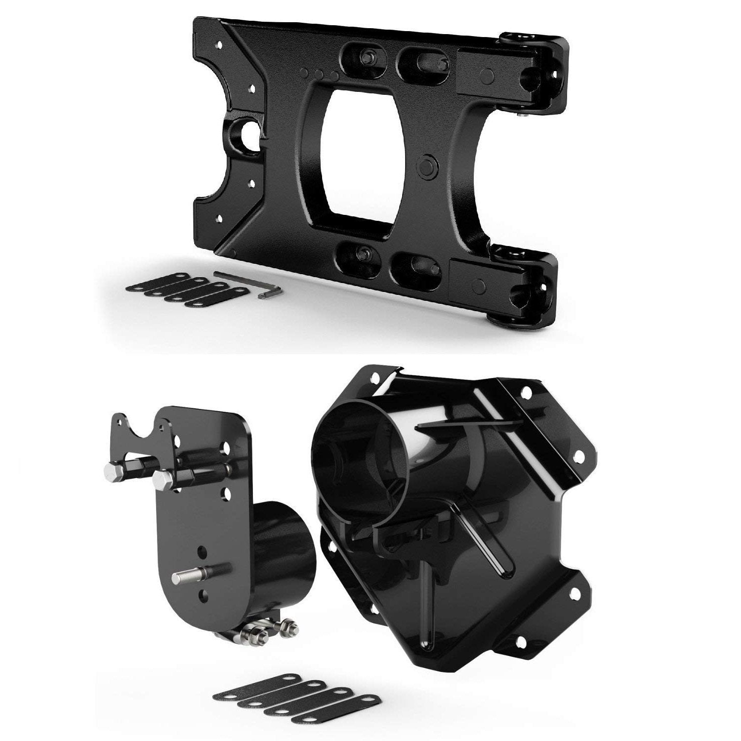 Jeep JK Hinged Tire Carrier & Adjustable Spare Tire